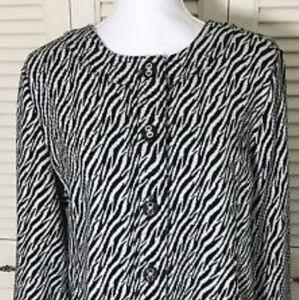 ♣️ Charter Club Zebra Print Jacket ♣️